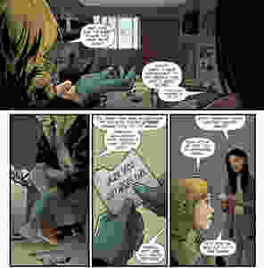 Forgotten Home, issue #1, page 5, Vices Press, Schultz/Cresta