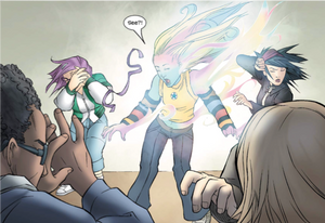 Runaways (2003), Issue #3, page 18, Marvel Comics, Vaughan/Alphona