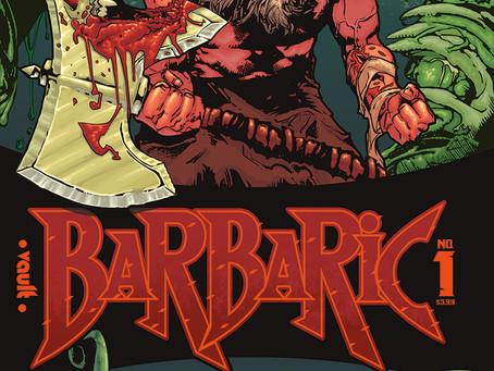 BARBARIC, ISSUE #1