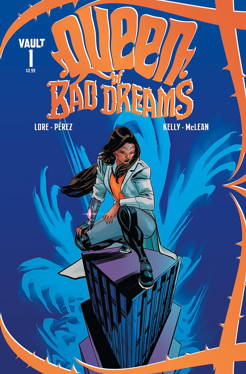 Queen of Bad Dreams, issue #1, cover, Vault Comics, Lore/Pérez