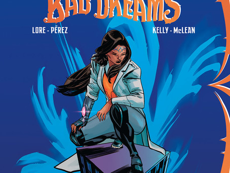 QUEEN OF BAD DREAMS, ISSUE #1