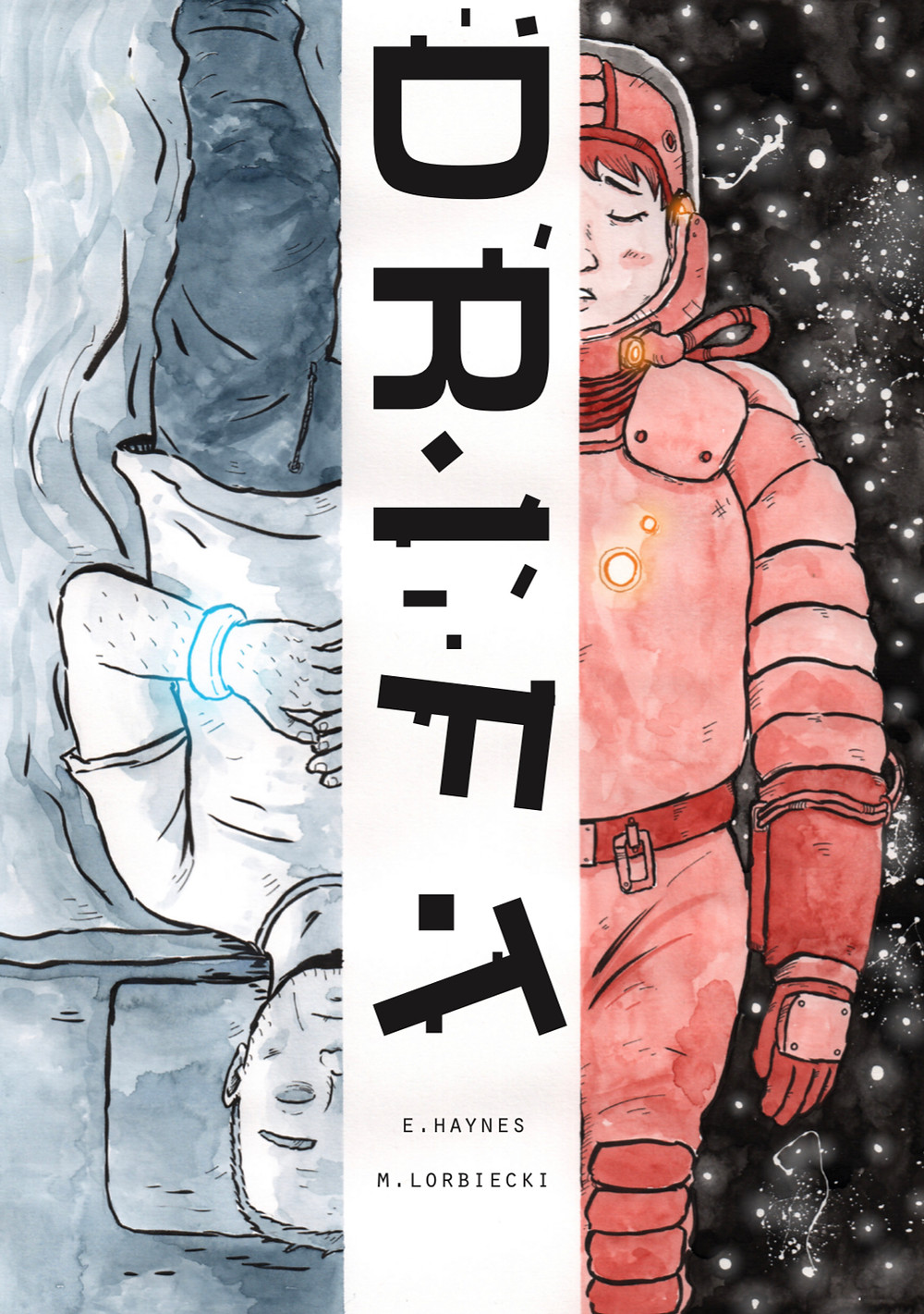 DRIFT, one-shot, cover, Self-published, Haynes/Lorbiecki