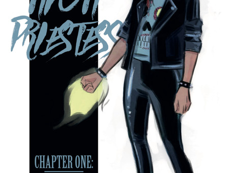 THE HIGH PRIESTESS, ISSUES #1-2