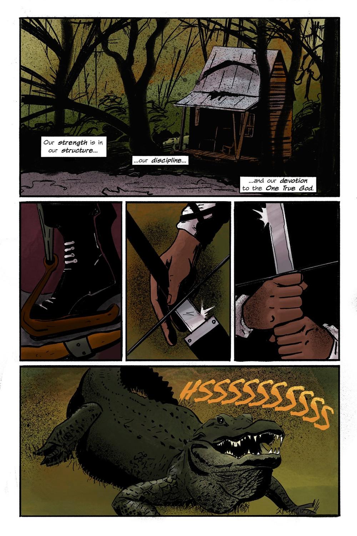 War Priest, OGN, page 5, Ashcan Comics Pub, Kemp