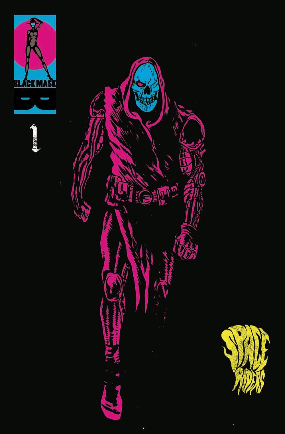 Space Riders, issue #1, cover, Black Mask Studios, Giffoni/Ziritt