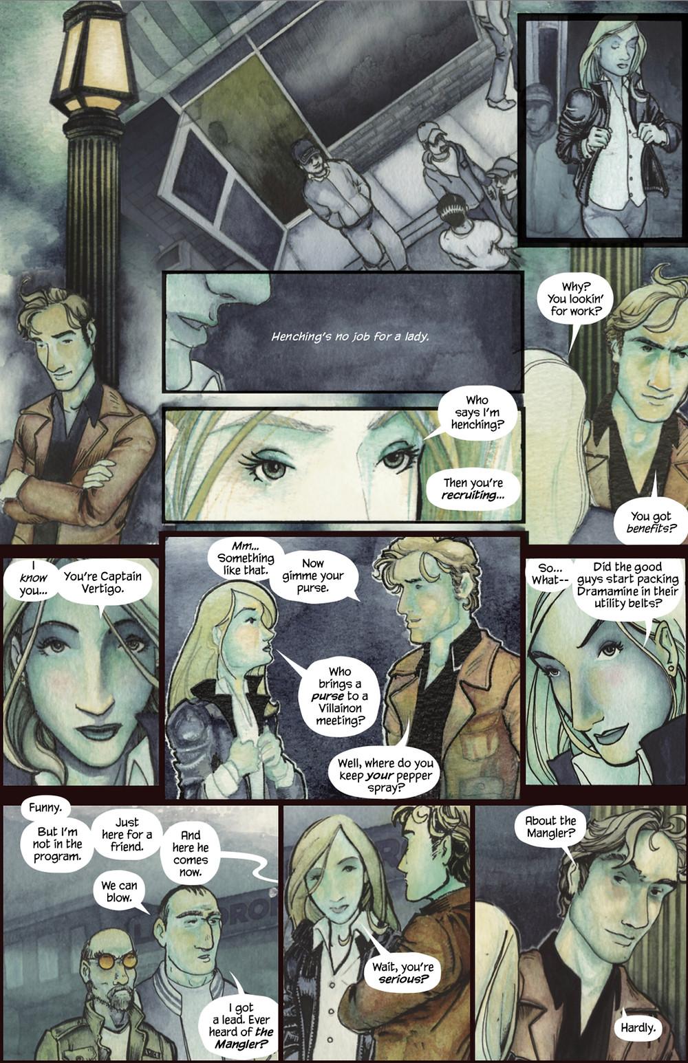 GUN, issue #1, page 8, Reckless Eyeballs Press, Foster