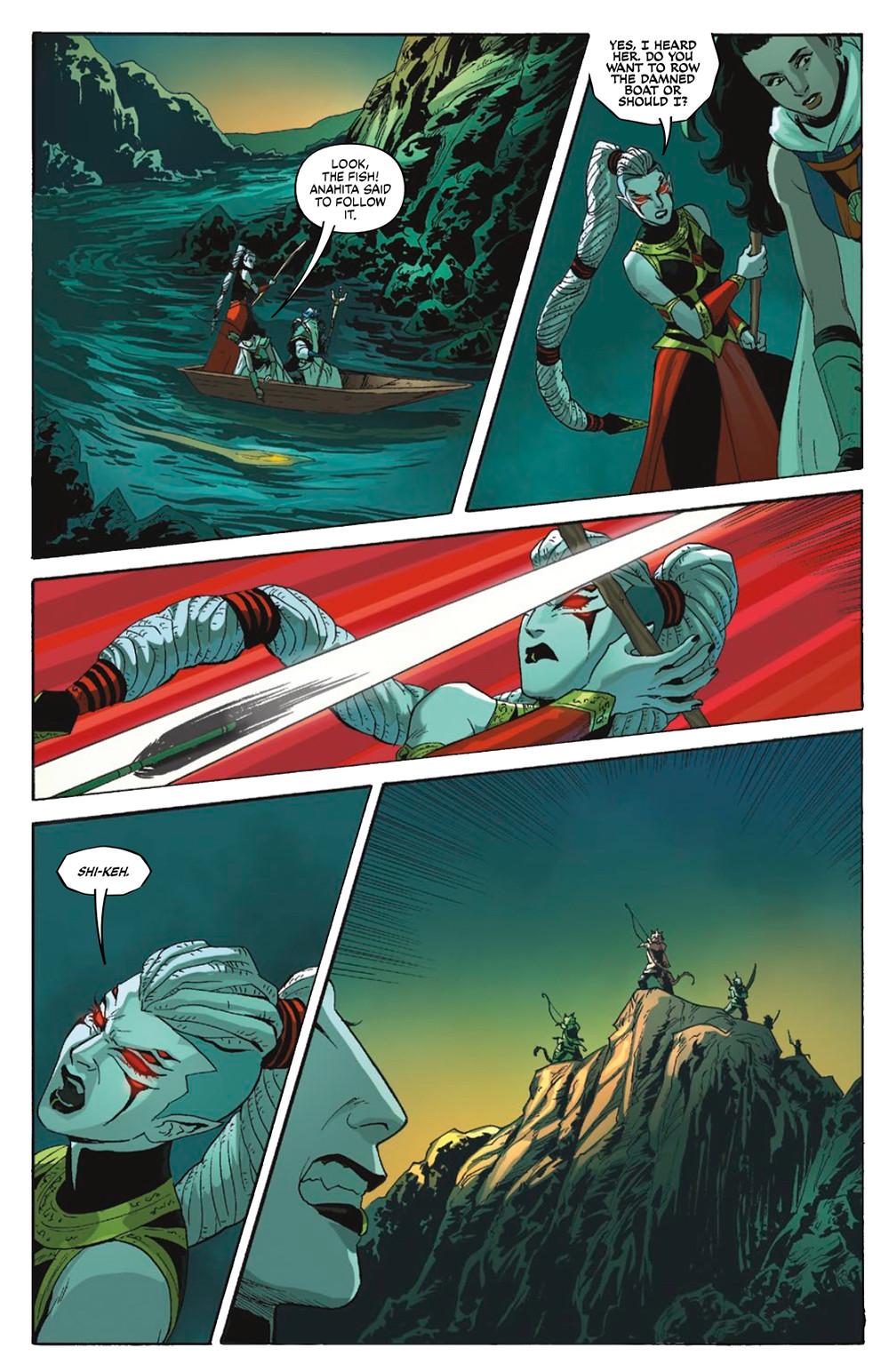 Sera and the Royal Stars, issue #3, Vault Comics, Tsuei/Mok