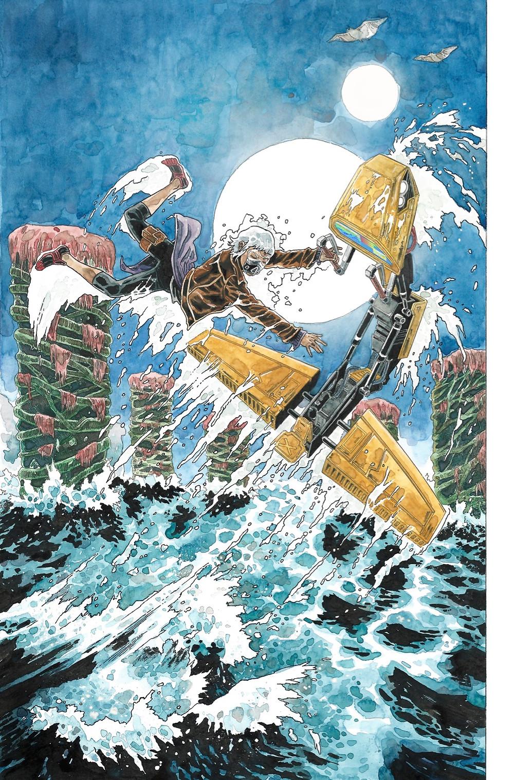 Saltwater, one-shot, page 4, Aurora Comics, Quinn/Obera