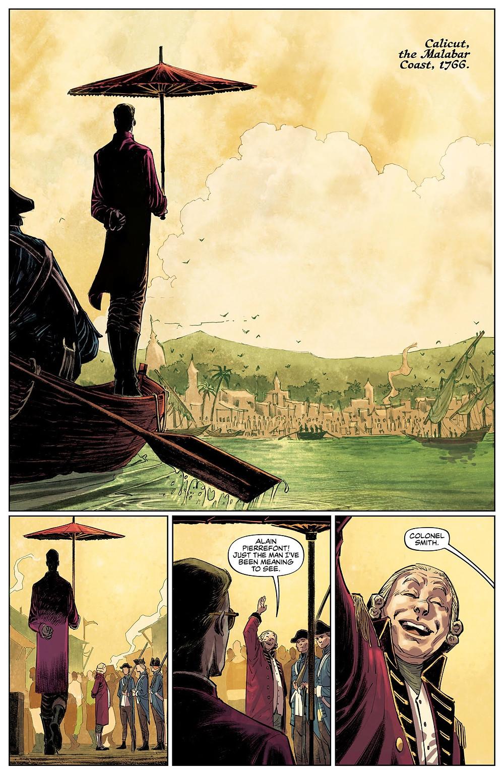 These Savage Shores, Issue #1, Vault Comics, Ram V/Kumar