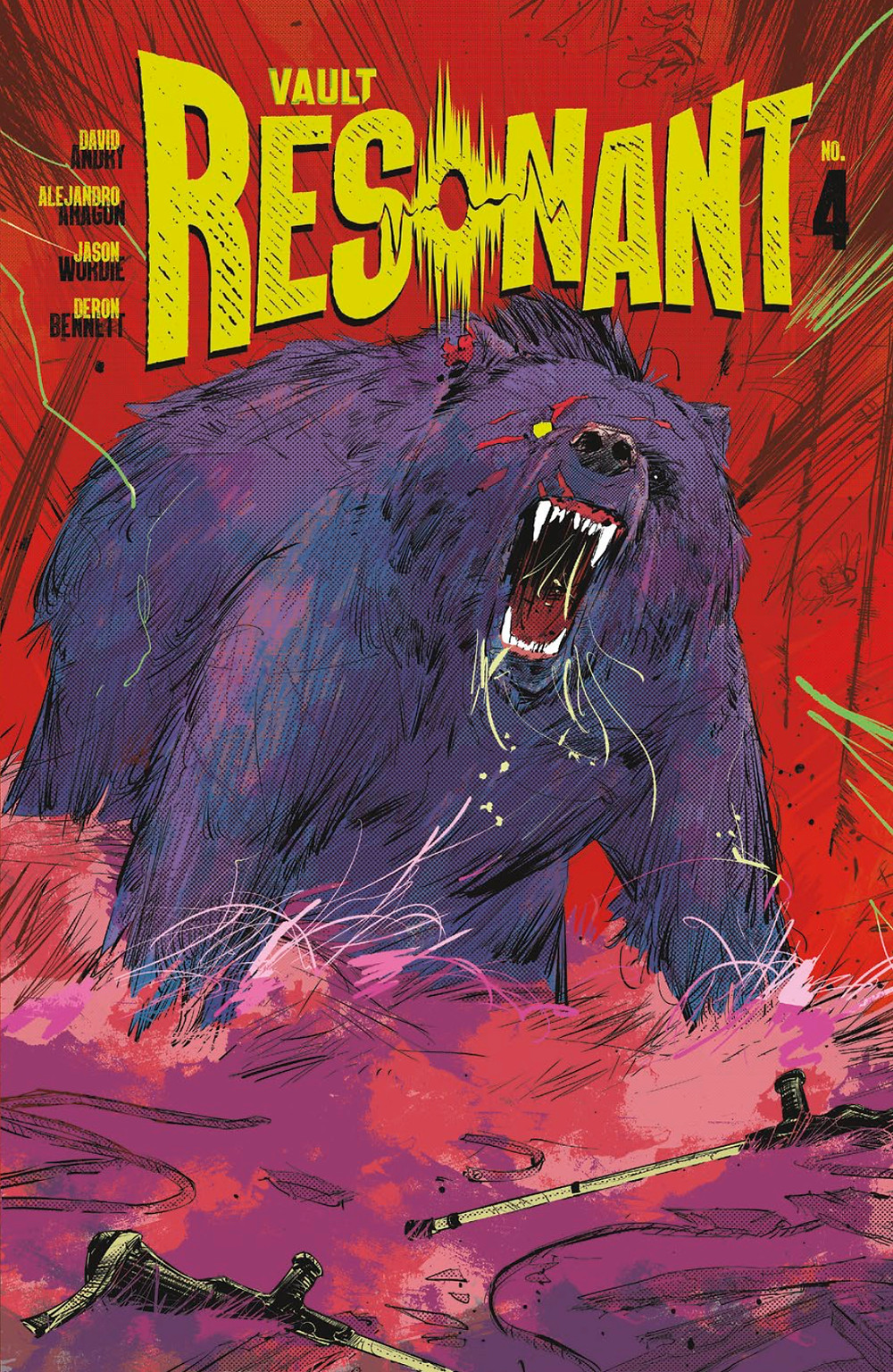 Resonant, issue #4, cover, Vault Comics, Andry/Aragón