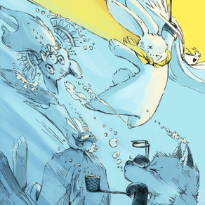 Interview with Nate Cosby, Writer of The Effervescent Adventures Of Fight-Bunny