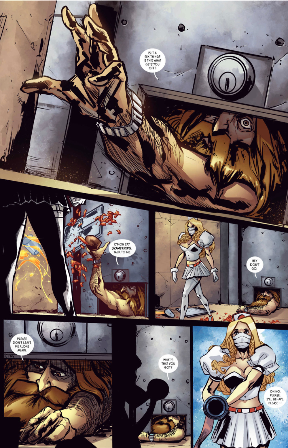 The Show, issue #1, page 4, McPherson/Velasquez