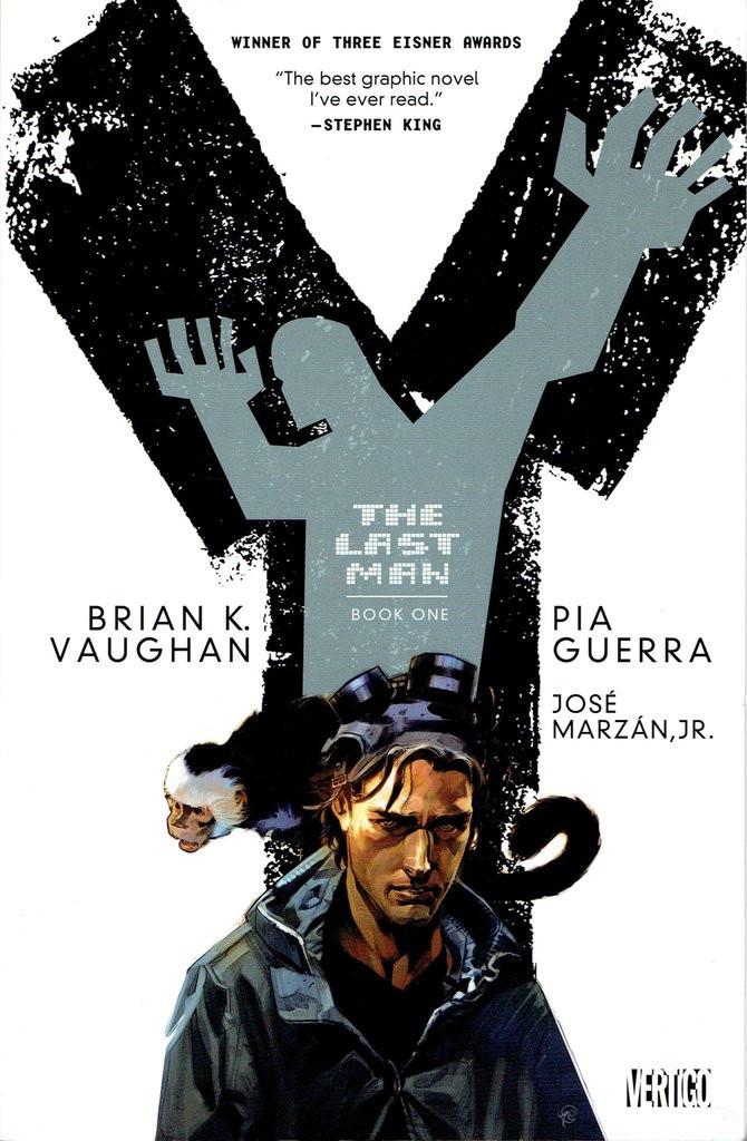Y: The Last Man, Vol. 1 (tpb), cover, Vertigo, Vaughan/Guerra