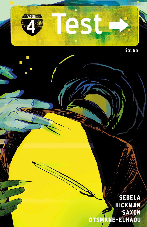 Test, issue #4, cover, Vault Comics, Sebela/Hickman