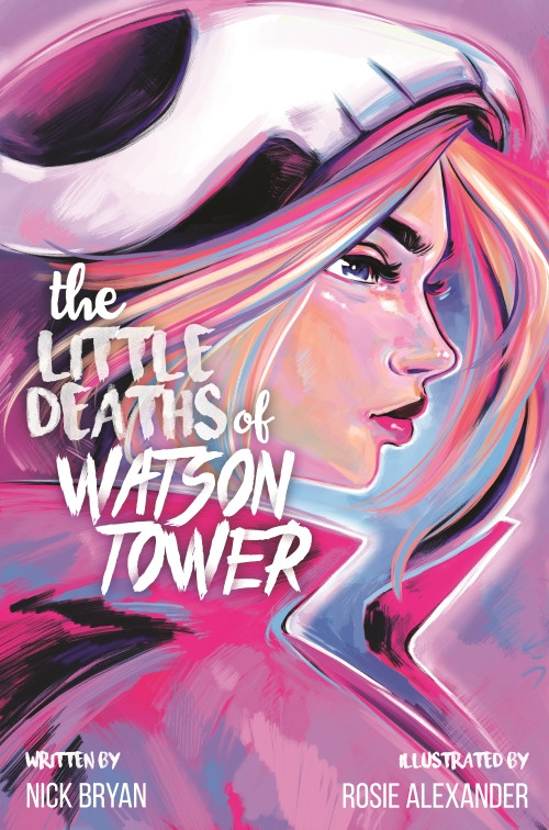 The Little Deaths of Watson Tower, cover, Self-published, Bryan/Alexander