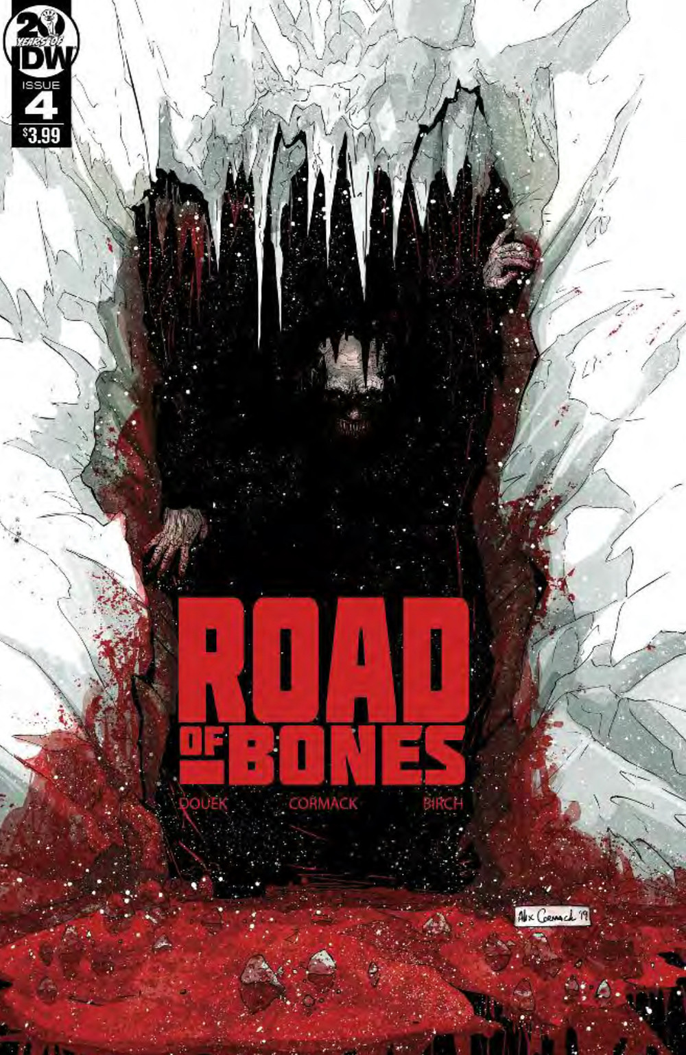 Road of Bones, issue #4, cover, IDW, Douek/Cormack