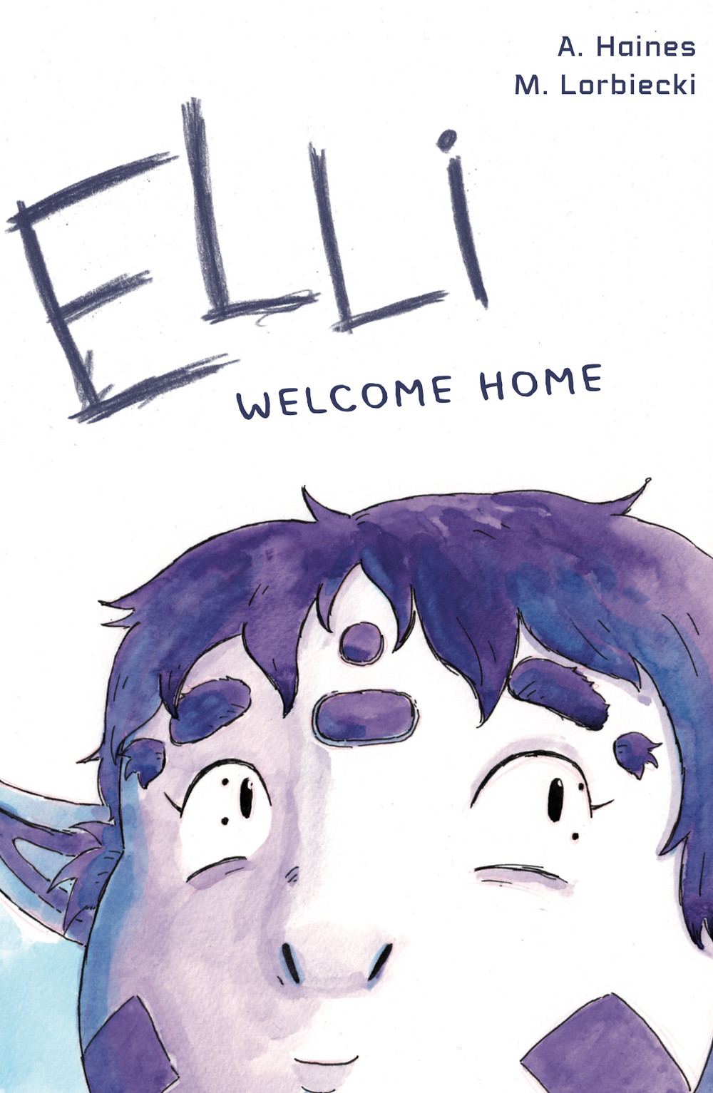 Elli, issue #1, cover, self-published, Haines/Lorbiecki