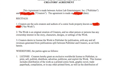 An Exploration of the Action Lab Contract