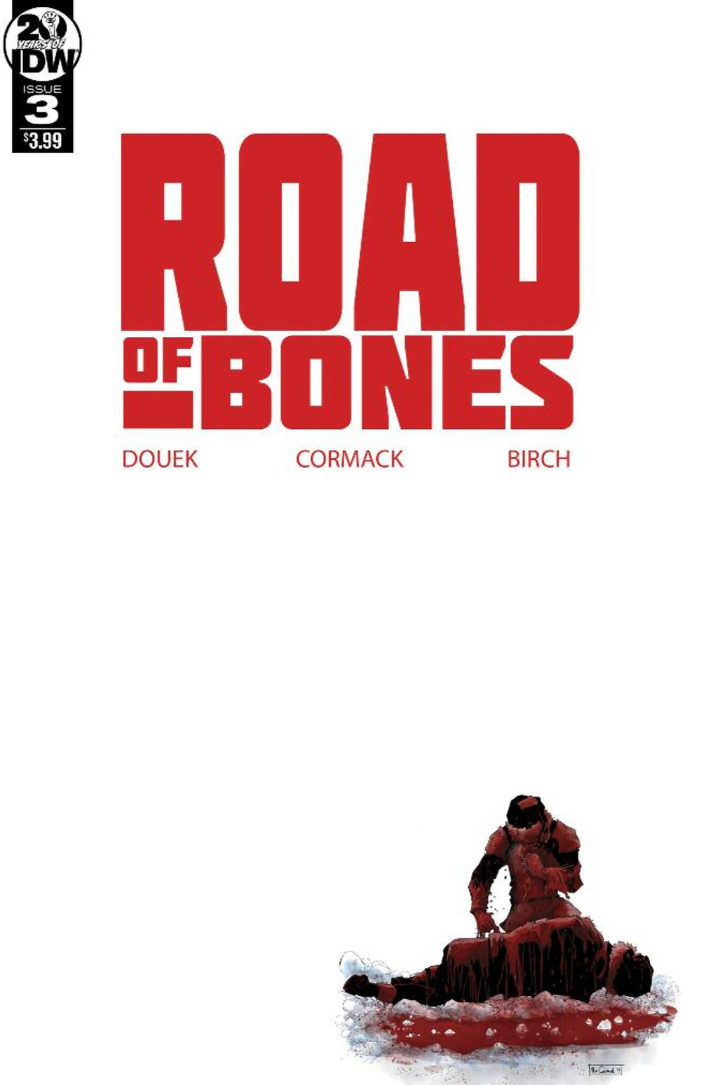 Road of Bones, issue #3, cover, IDW, Douek/Cormack