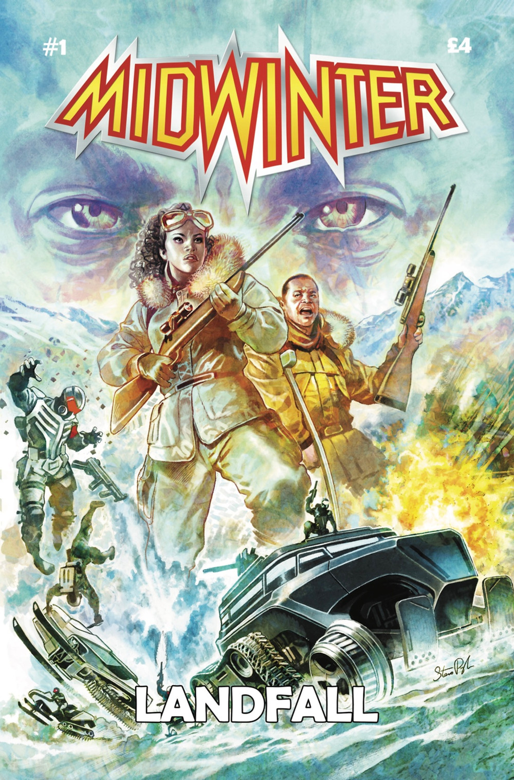 Midwinter, issue #1, cover, UK Comics Creative, Whitehead/Holden