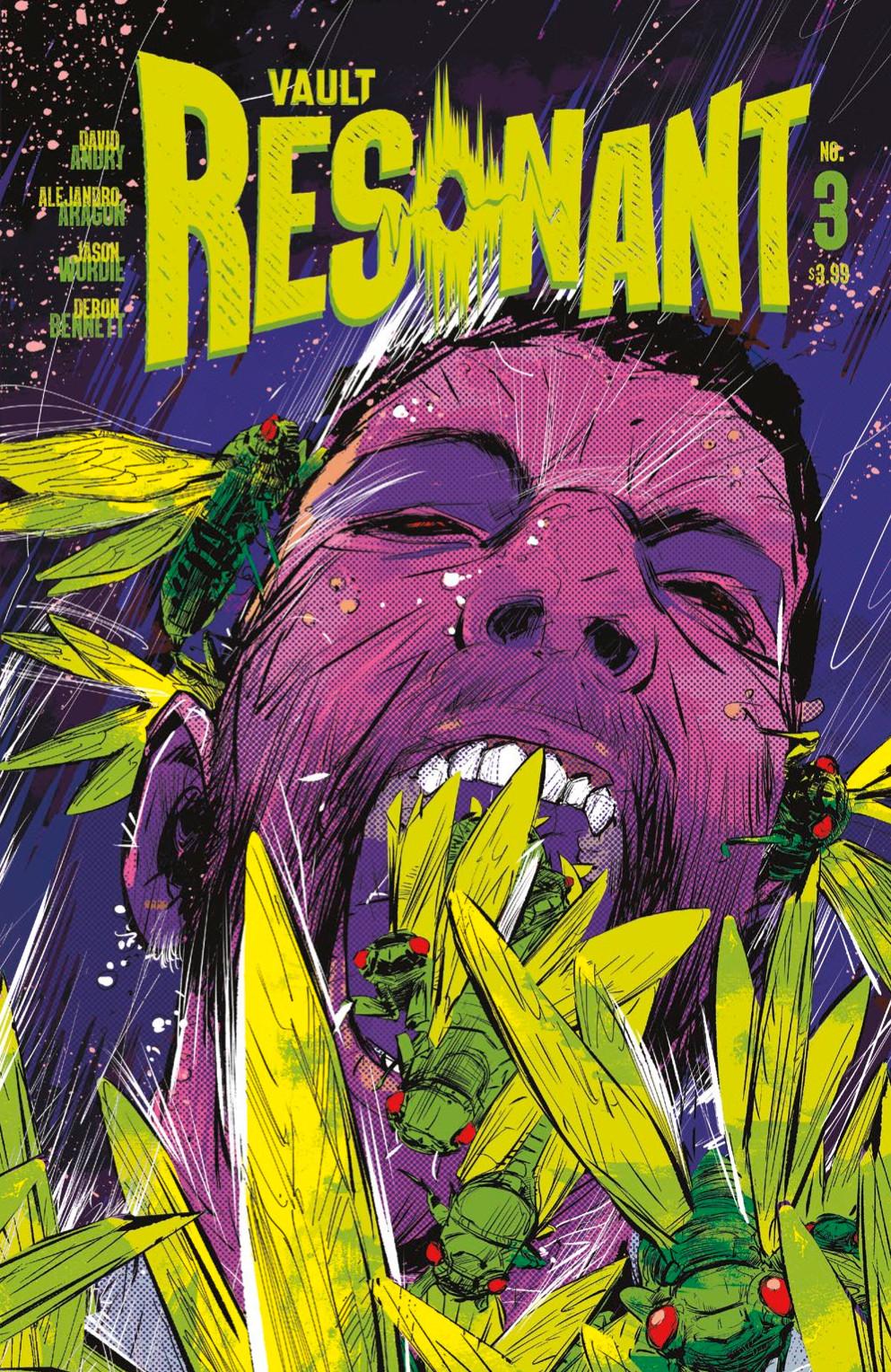 Resonant, issue #3, cover, Vault Comics, Andry/Aragón