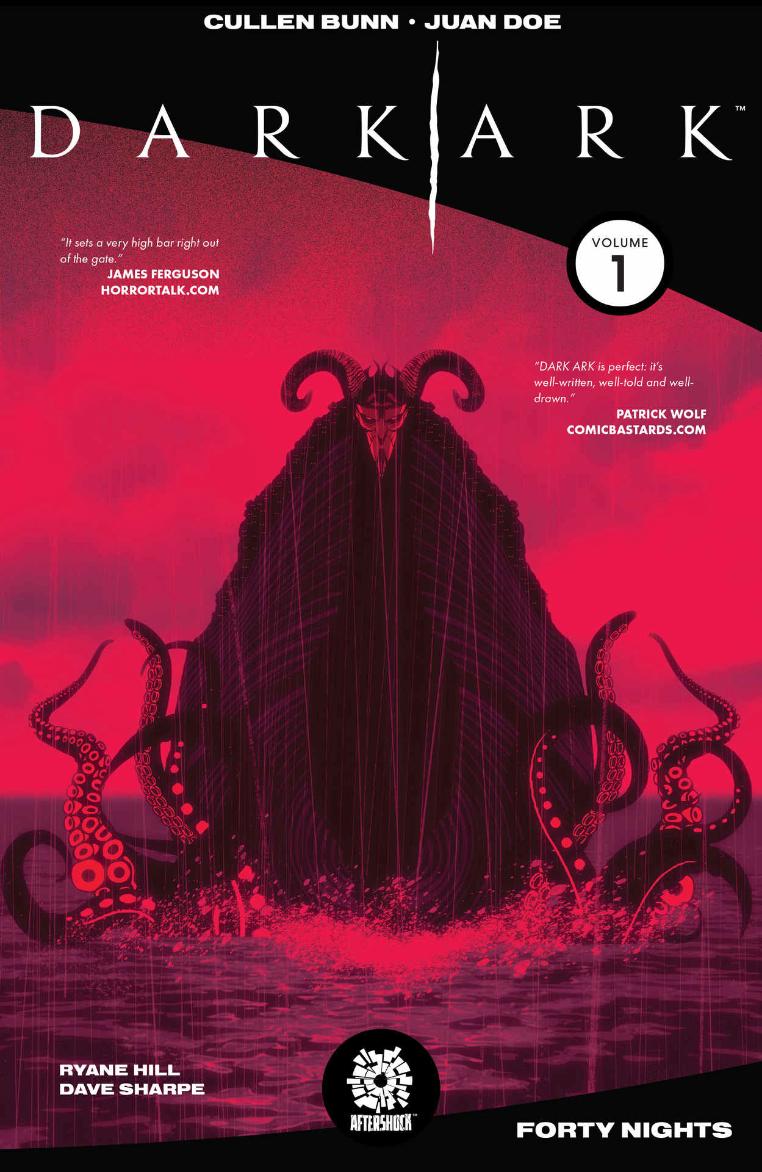 Dark Ark, Vol. 1 (tpb), cover, AfterShock, Bunn/Doe