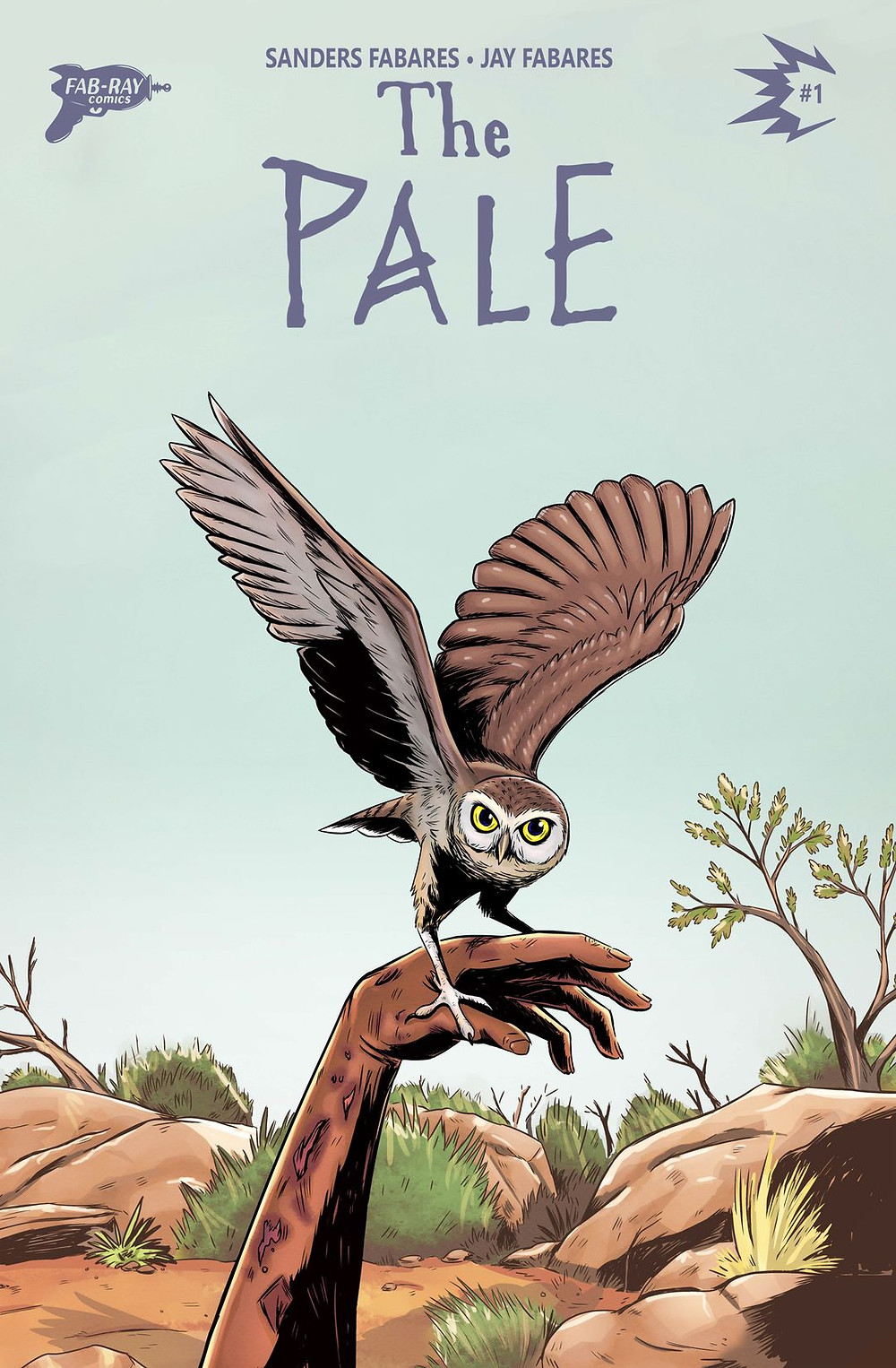 The Pale, issue #1, cover, Fab-Ray Comics, Fabares/Fabares