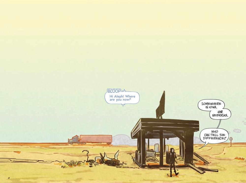 Test, issue #1, page 4, Vault Comics, Sebela/Hickman