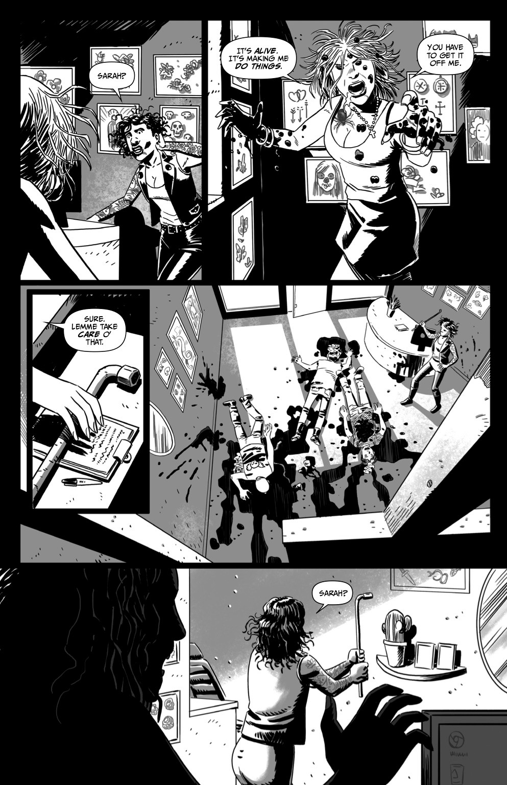 Scratcher, issue #1, page 7, Self-published, Ward/Romera