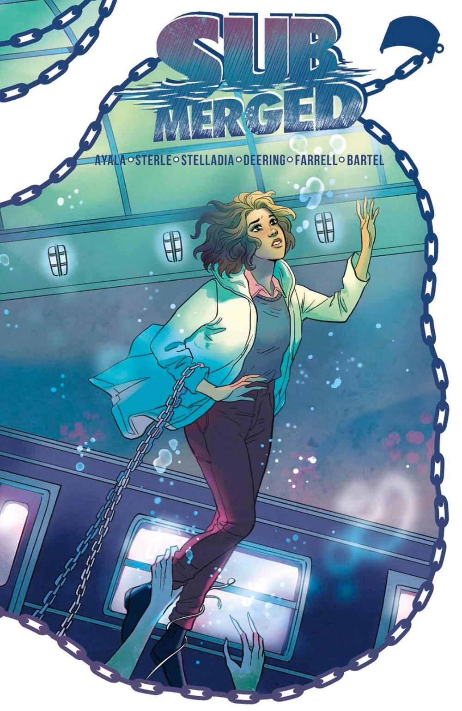 Submerged (tpb), cover, Vault Comics, Ayala/Sterle
