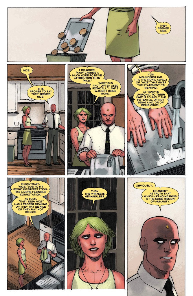 The Vision #1, page 8, Marvel Comics, King/Walta