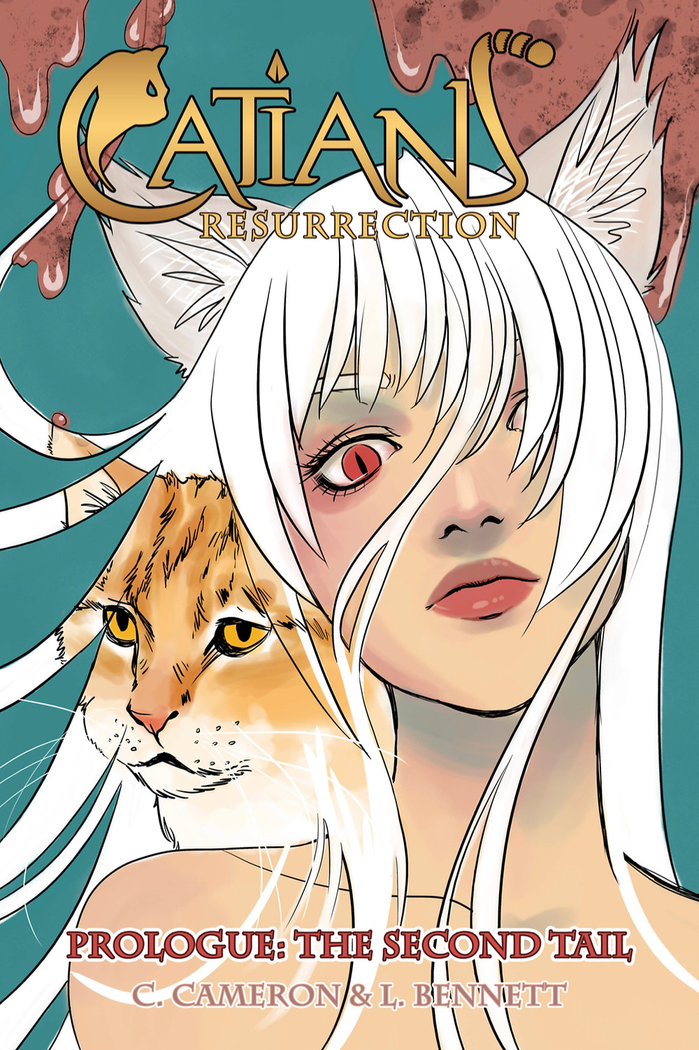 Catians: Resurrection, issue #1, cover, self-published, Cameron/Bennett