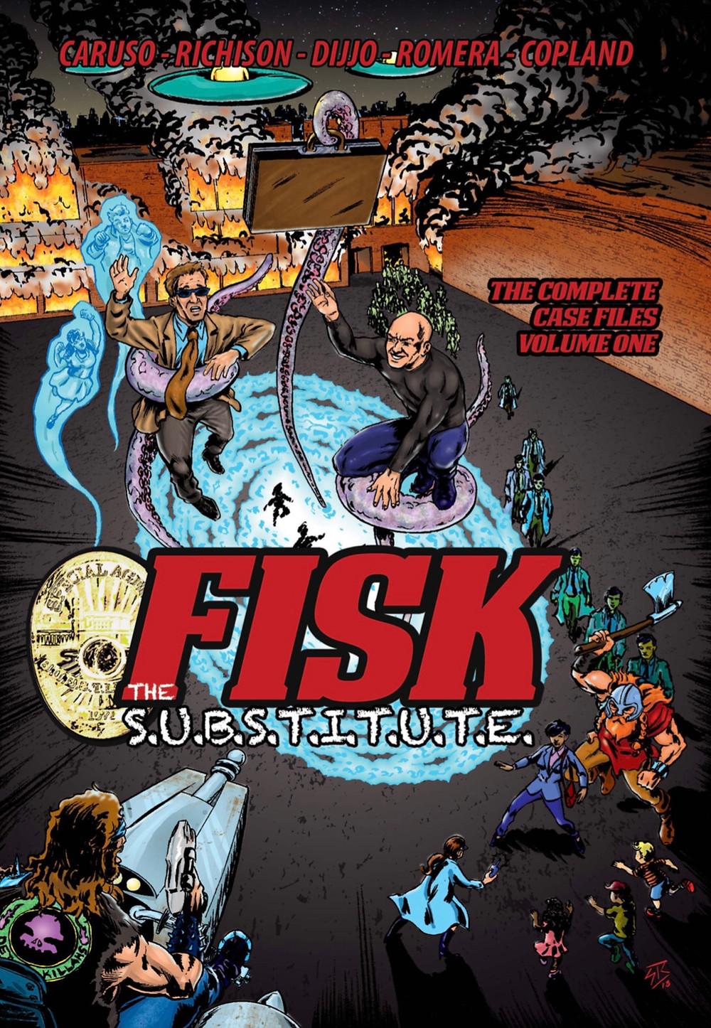 Fisk The S.U.B.S.T.I.T.U.T.E., Vol. 1 (tpb) cover, Self-published, Caruso/Richison