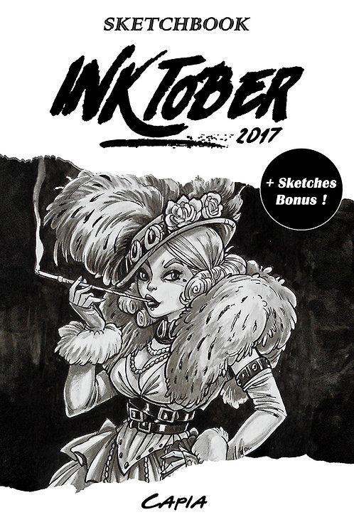 """Sketchbook """"Inktober 2017"""" + Bonus"""