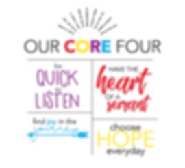 Spectrum of Hope Core Four Values