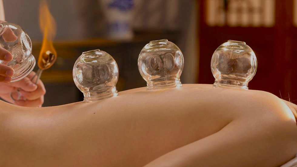 """Cupping"" Traditionel en verre"