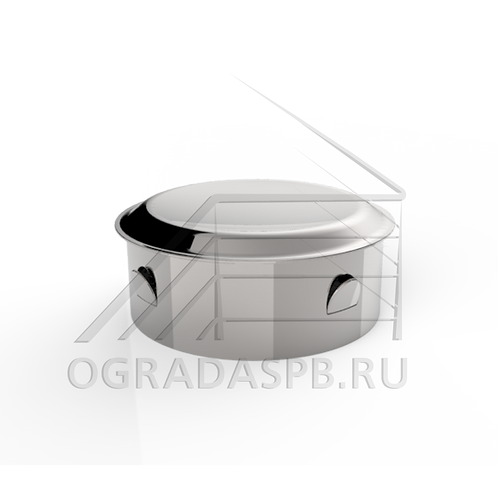 Заглушка забивная штампованная для трубы Ø50,8*1,5 мм