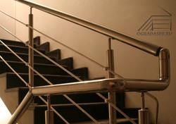 Ограждение маршевой лестницы.