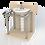 Thumbnail: Поручень для раковины напольный диаметром 32мм aisi304