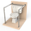 Thumbnail: Опорный поручень для туалетной кабины, комнаты диаметром 42,4мм