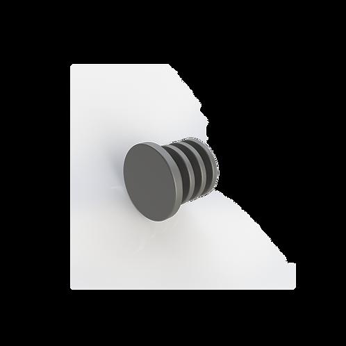 Заглушка забивная для трубы Ø12*1 мм. материал: пластик