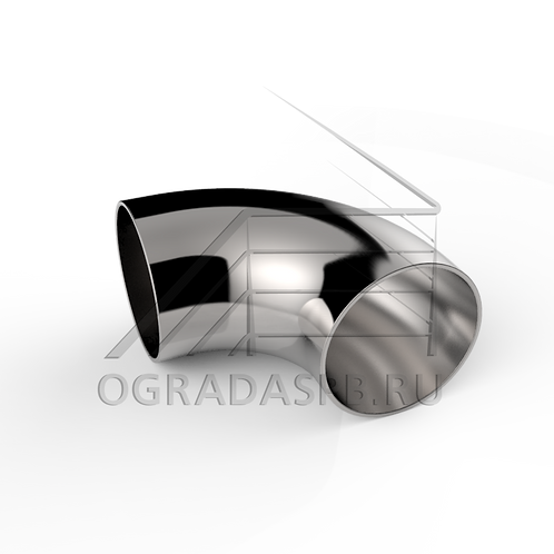 Отвод круглый (под сварку), угол 90° для трубы Ø42,4*1,5 мм