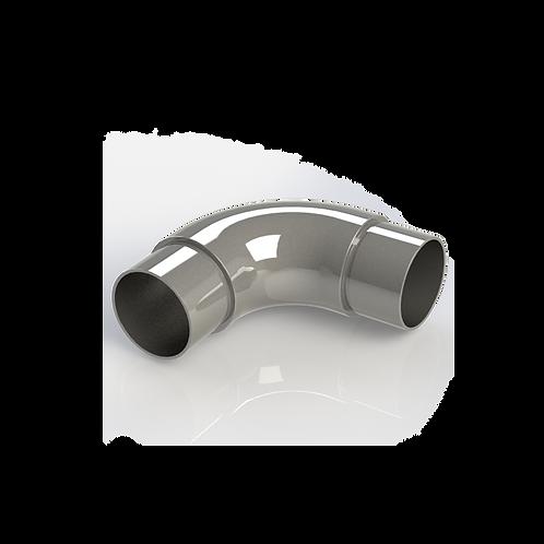 Отвод круглый, угол 90° для трубы Ø38*1,5 мм