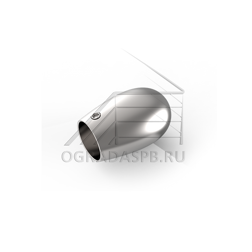Заглушка накладная для трубы Ø16 мм