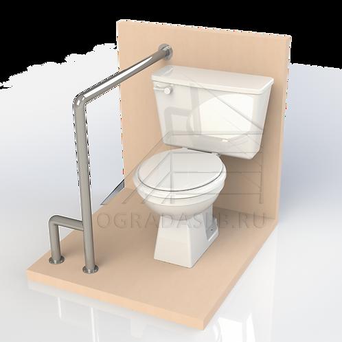 Опорный поручень для туалетной кабины, комнаты диаметром 42,4мм