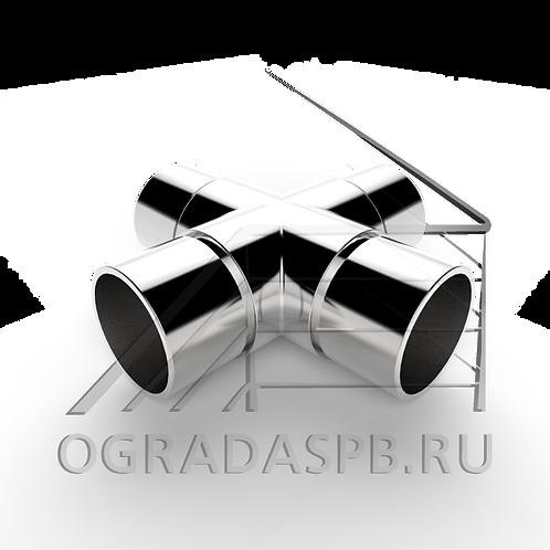 Крестовина для трубы Ø50,8*1,5 мм.  материал: AISI 304