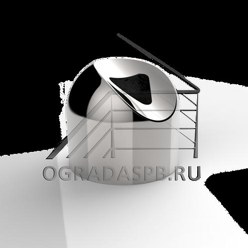 Соединение поручня со стойкой Ø16*50,8 мм (30°)