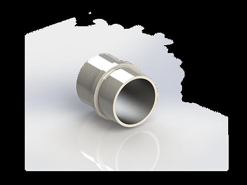 Соединитель поручня для трубы Ø38*1,5 мм