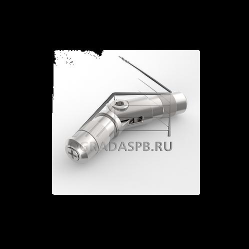 Отвод шарнирный для трубы Ø12*1 мм., угол от 90° до 180