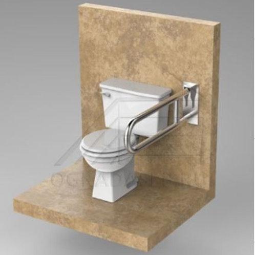 Поручень для туалета настенный откидной AISI304